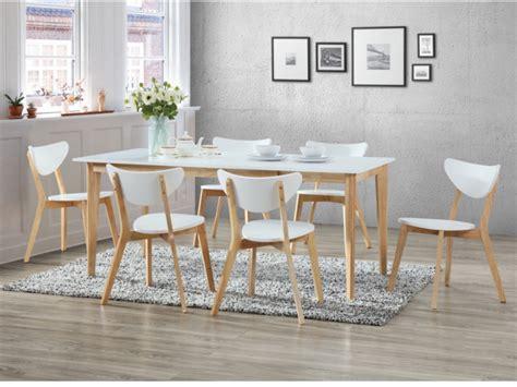 ensemble table et 6 chaises ensemble table et chaise meuble salle à manger pas cher