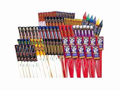 Rockets Rocket Fireworks Phantom Missiles Aerial Assortments
