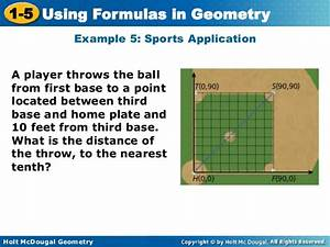The Application Of Throw Distance Formula