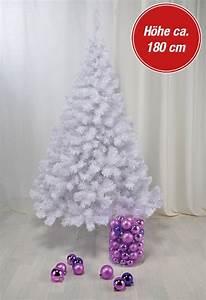 Künstlicher Weihnachtsbaum Geschmückt : k nstlicher weihnachtsbaum wei 180 cm real ~ Yasmunasinghe.com Haus und Dekorationen