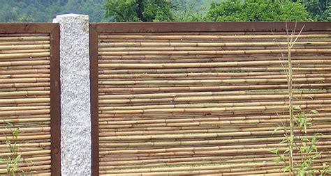 sichtschutz bzw sichtschutzelemente aus bambus finden sie