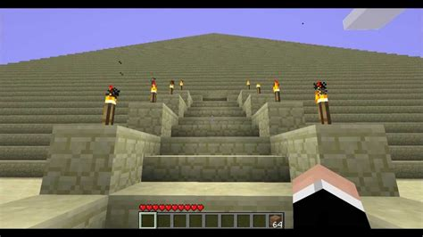 minecraft les 7 merveilles du monde la pyramide de kh 233 ops