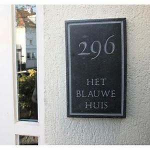 Plaque De Maison Personnalisée : plaque nom maison personnalis e ~ Dallasstarsshop.com Idées de Décoration
