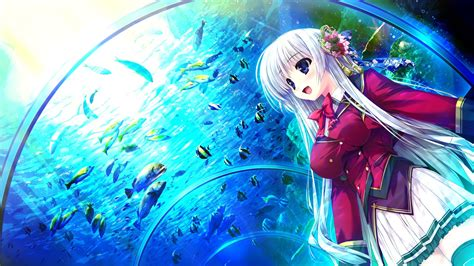 girl   aquarium   anime  life  shades