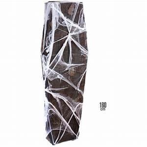 Deko Sarg Halloween : deko sarg mit gaze und spinnennetz 160cm ~ Markanthonyermac.com Haus und Dekorationen
