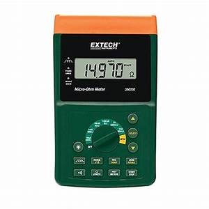 Jual Micro Ohm Meter With Nist Extech Um200-nist