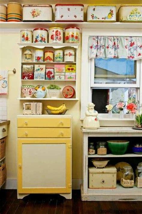boite cuisine vintage idées pour la deco cuisine retro