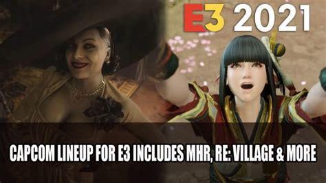 Capcom Announces E3 2021 Showcase Featuring Monster Hunter ...