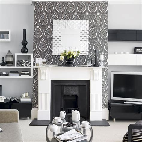 wallpaper livingroom walls wallpaper inspiration fireplace wall