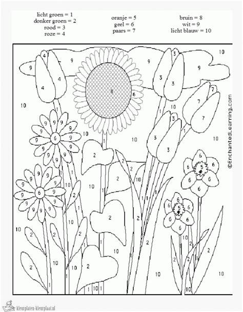 Hoe kun je ingewikkelde rekensommen begrijpelijker én leuker maken? Kleurplaat Met Rekensommen - Placemat Pasen middenbouw ...