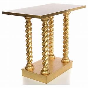 Säulen Aus Holz : altar aus buche holz mit s ulen und blattgold 120x80cm online verfauf auf holyart ~ Orissabook.com Haus und Dekorationen