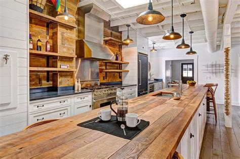 wood island kitchen 23 reclaimed wood kitchen islands pictures designing idea