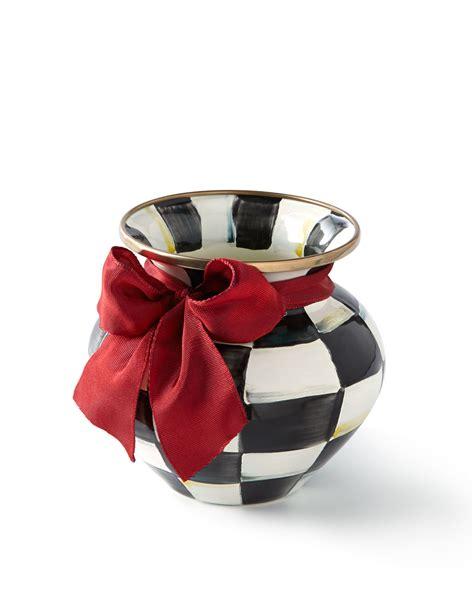 Mackenzie Childs Vase by Mackenzie Childs Courtly Check Vase With Neiman