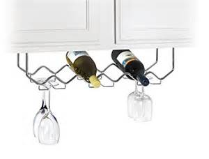 useful uh gb186 under cabinet stemware holder and wine