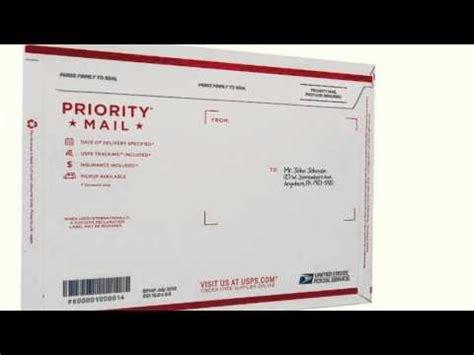 priority mail envelope label labels