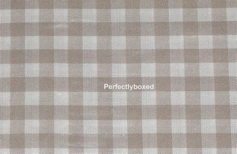 Beige Gingham Tablecloths www.perfectlyboxed.com