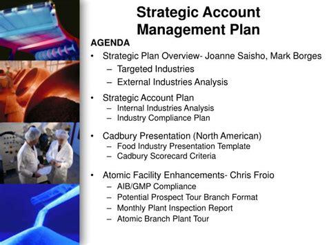 strategic account management plan powerpoint