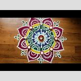 Rangoli Designs With Flowers And Colours | 480 x 360 jpeg 95kB