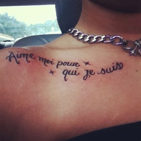 tattoos love quotes french quotesgram