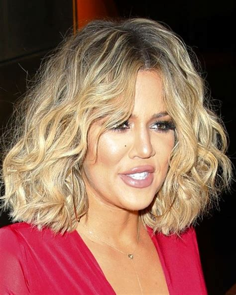 Khloe' Kardashian - Loose Wave -Bob Cut - Custom Celebrity ...