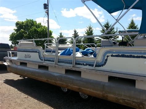 Sylvan Boats For Sale In Ontario by Sylvan 24 Sylvan Pontoon 1986 Used Boat For Sale In