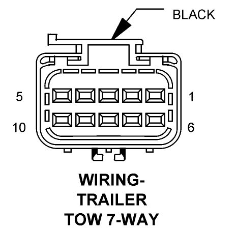 7 Blade Trailer Wiring Diagram Dodge by What S The Color Code For A 7 Blade Trailer Connector For