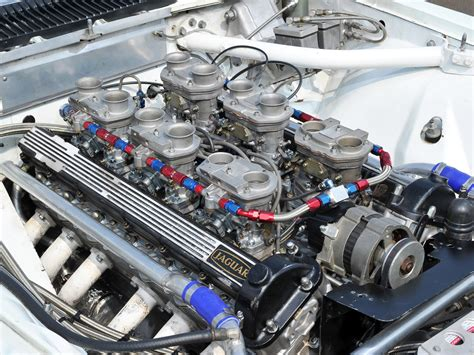 1976 Jaguar Xj-s Trans-am Classic Race Racing Engine