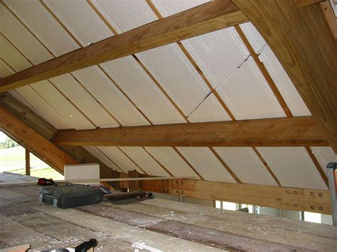 Insulating A Vaulted Ceiling Uk by Insulating The Vaulted Ceiling Expanded Polystyrene