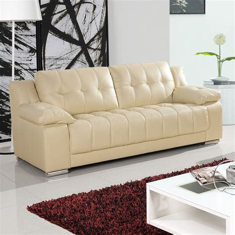 newham ivory cream leather sofa collection