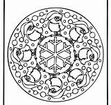 Mandala Coloring Border Corner sketch template