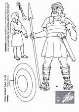 David Bible Goliath Coloring Pages Crafts Activities Sunday Basteln Story Kindern Stories Lessons Printable Craft Activity Und Characters Bibel Mit sketch template
