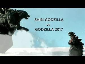 Shin Godzilla vs Godzilla 2017 ||FULL BATTLE|| (2018) HD ...
