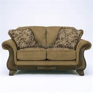 lansbury autumn loveseat signature design furniture cart