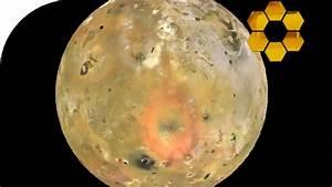 Orbiting Io Moon