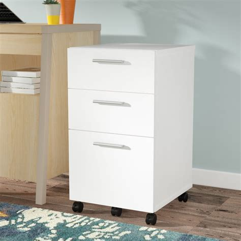Comm Office Jayda 3 Drawer Mobile Filing Cabinet & Reviews