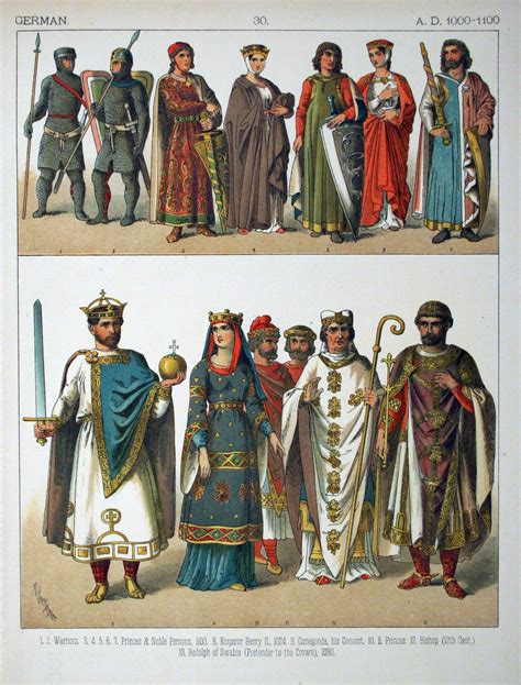 1000 images about s historical clothing on file a d 1000 1100 german 030 costumes of all