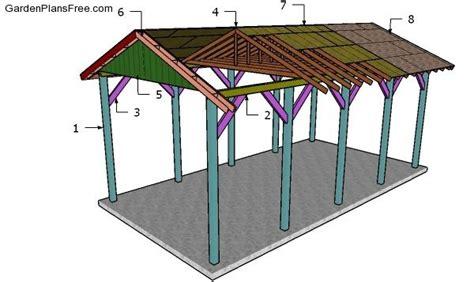 Motorhome Carport Plans by 20x40 Rv Carport Plans Free Pdf Free Garden