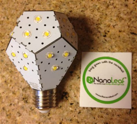 my nanolight light bulb has arrived most energy efficient