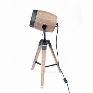 Adjustable contemporary modern wooden floor lamp with for Modern timber floor lamp