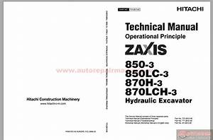 Hitachi Excavator Zaxis Zx870