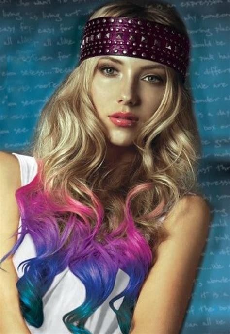 Splat Hair Color Dip Dye ♥ For The Kids Pinterest