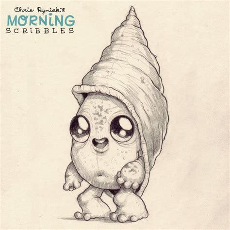 morning scribbles   plain cool scribble art