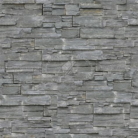 Stacked Slabs Walls Stone Texture Seamless 08165