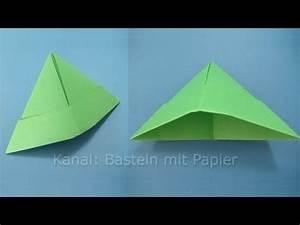 Hut Aus Papier : papierhut falten hut basteln mit papier origami basteln mit kindern bastelideen ~ Watch28wear.com Haus und Dekorationen