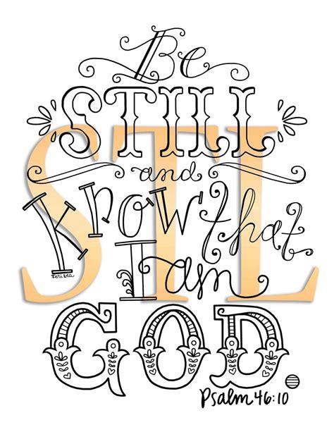 psalm  bible verse hand drawn art printed