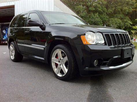 jeep srt 2010 find used 2010 jeep grand cherokee srt 8 black hemi in