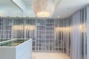 Dressing Tout En Un Avec Rideau : dressing chambre avec rideau ~ Dailycaller-alerts.com Idées de Décoration