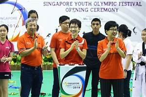 Largest S'pore Youth Olympic Festival to date gets ...