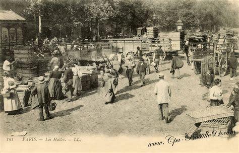 les de bureau anciennes les halles cartes postales anciennes