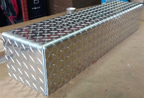 custom cut metal box  tray